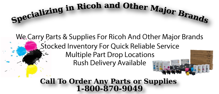 Ricoh Copier Repair and Ricoh Printer Repair Sales